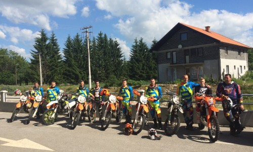 Bosnien Endurotour 2017